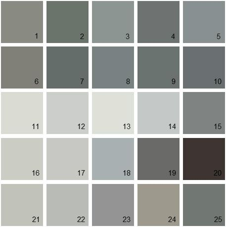 benjamin moore paint colors grayBenjamin Moore Gray House Paint Colors  Palette 07 12