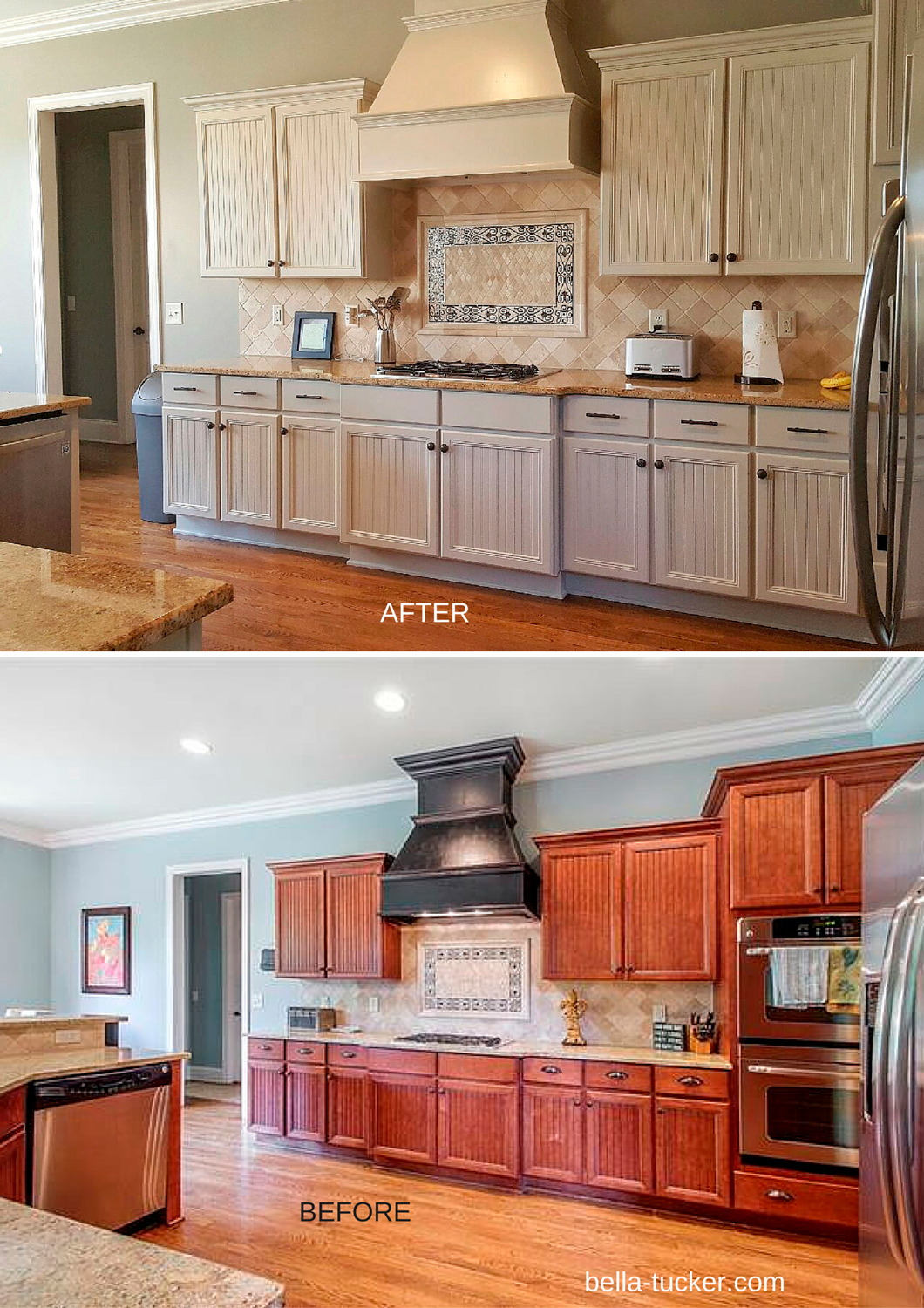 painting wood cabinets white before and after small kitchen
