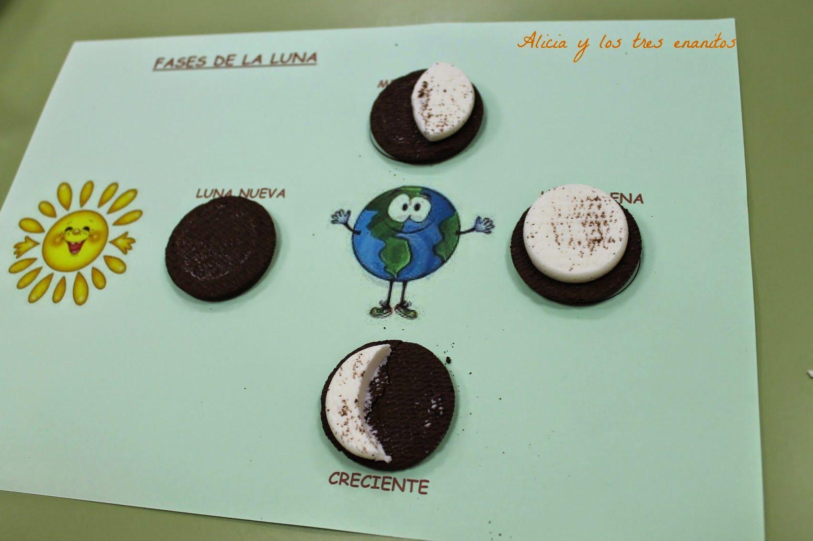 Actividades Fases De La Luna Infantil