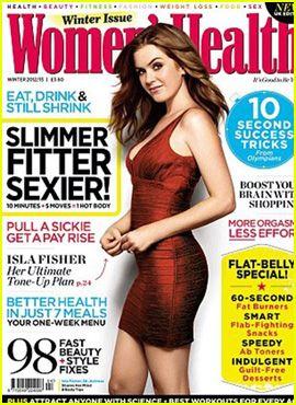 Isla Fisher Covers 'Women's Health' December 2012 | Magazine ...