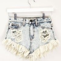 denim cut-offs