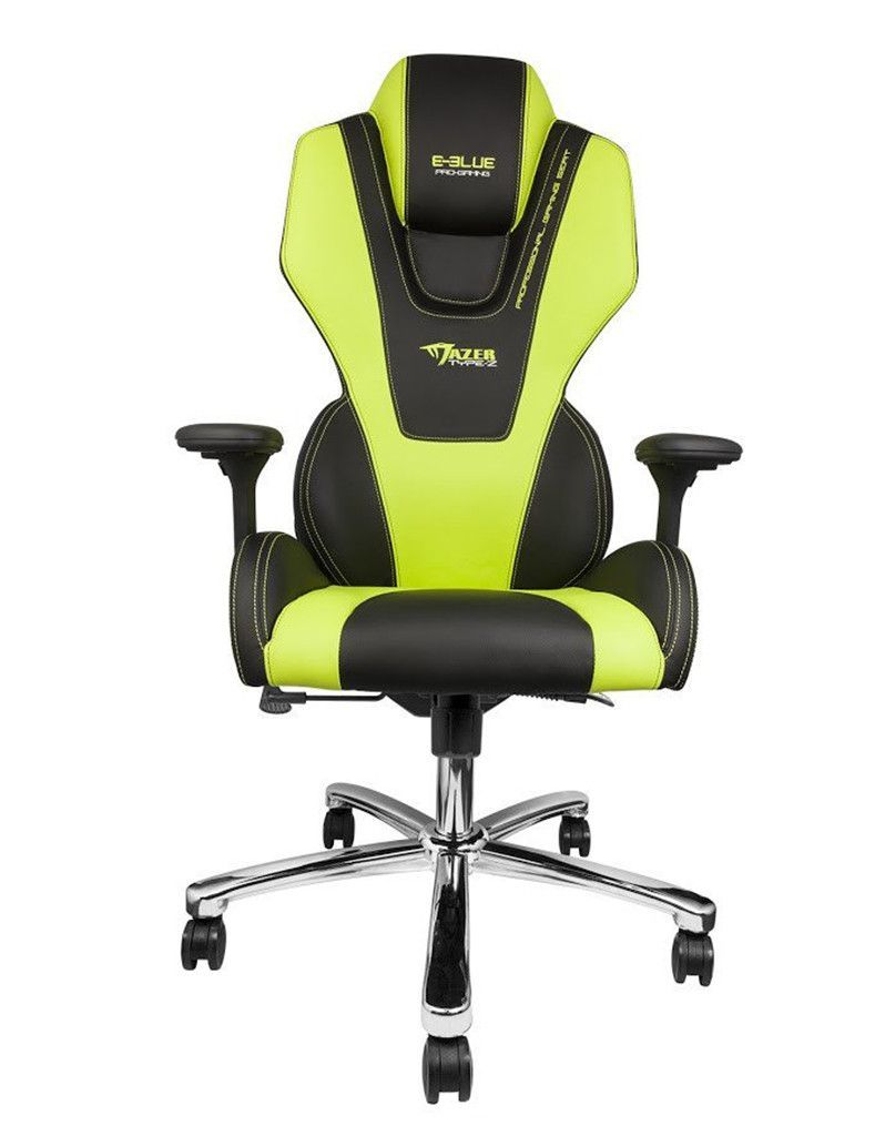 Pc Office Chairs Mazer Pc Gaming Chair Black Green Best Video Game Pinterest