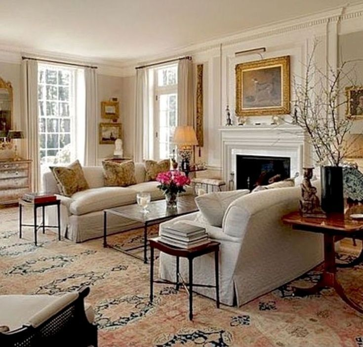 16 Stunning French Style Living Room Ideas: The Newest Design Small Apartment Living Room Layout Ideas