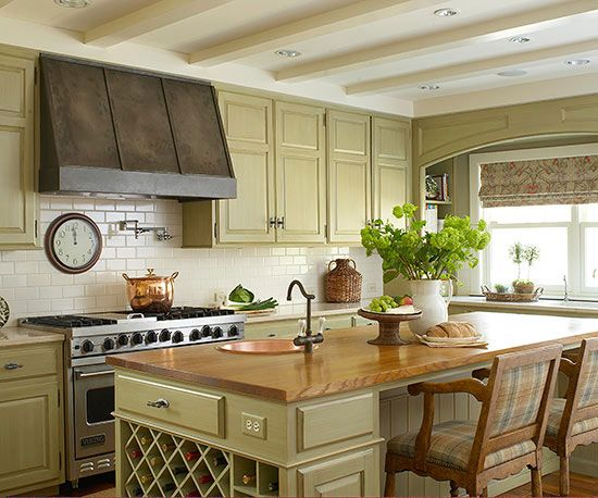 Country kitchen ideas my home interiors kitchens