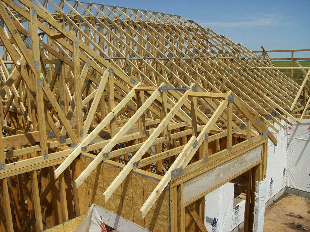 Cost Difference Between Site Built And Engineered Trusses Roof Trusses Roof Design Roof Framing