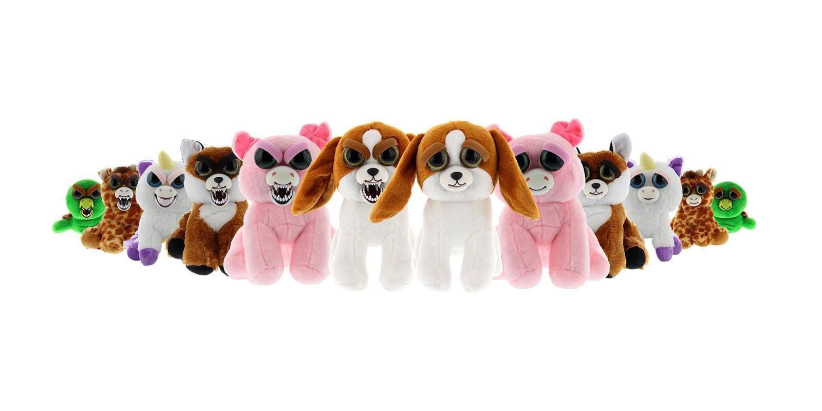Feisty Pets Plush Stuffed Animals Turn Silly Sly Feisty Many