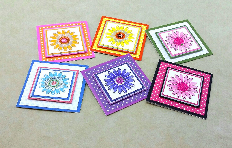 3x3 blank notecards handmade mini note cards mini gift tags 3x3 blank notecards handmade mini note cards mini gift tags any occasion notecard kristyandbryce Gallery