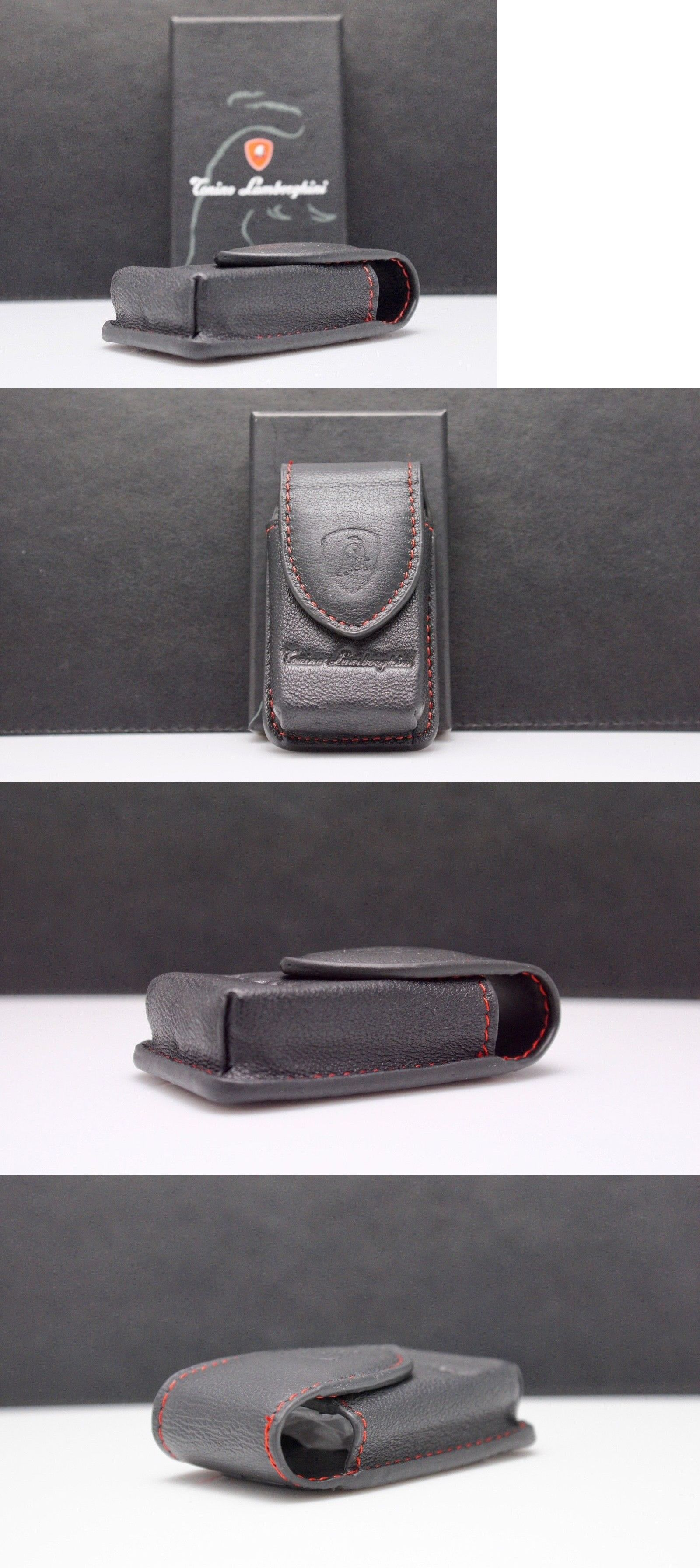 Key Chains Rings And Cases 52373 Tonino Lamborghini Black Leather