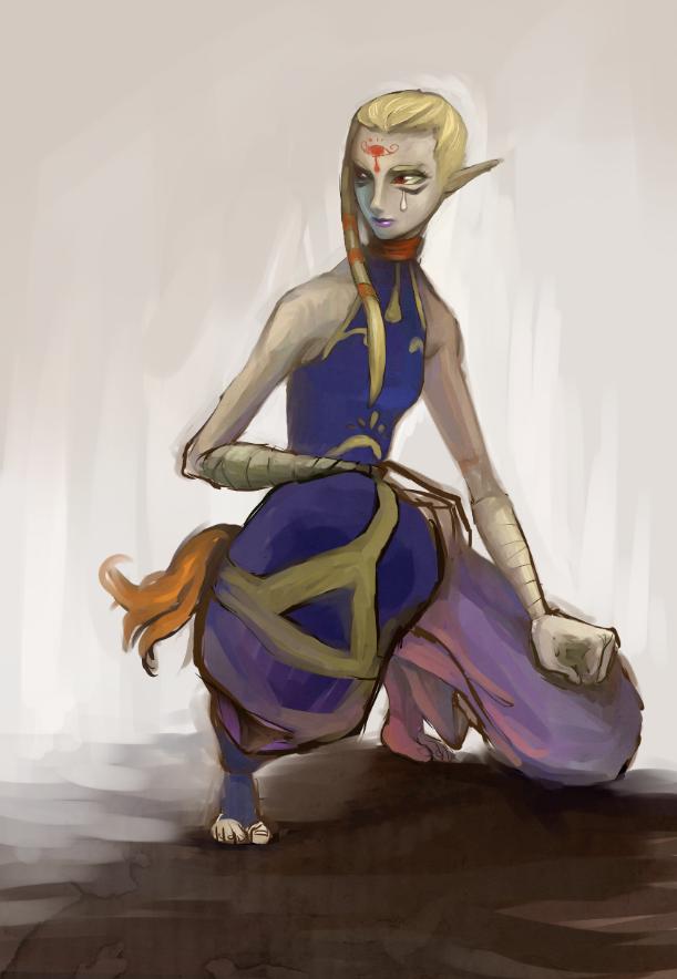 Impa - The Legend of Zelda: Skyward Sword