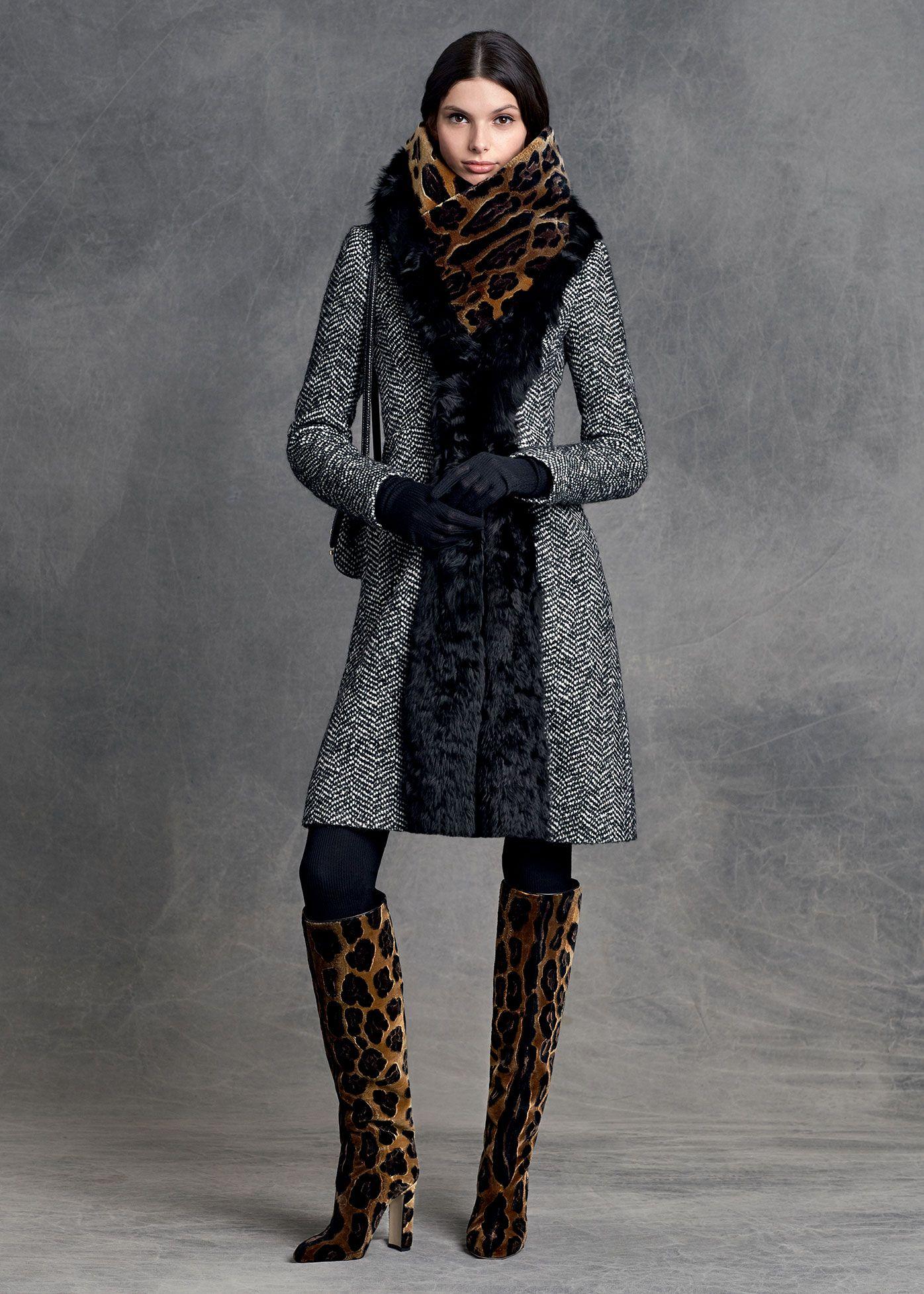 Dolce   Gabbana Abbigliamento Donna Inverno 2016 Stampe A Pelle Di  Leopardo 11839dd8bba