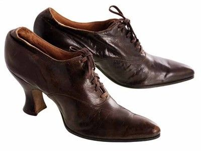 The Cats Pajamas - Vintage Brown Leather Ladies Shoes Louis Heels Oxfords S 7-7.5 Edwardian-1920, $248.00 (http://www.thebestvintageclothing.com/vintage-brown-leather-ladies-shoes-louis-heels-oxfords-s-7-7-5-edwardian-1920-pn10251111/)
