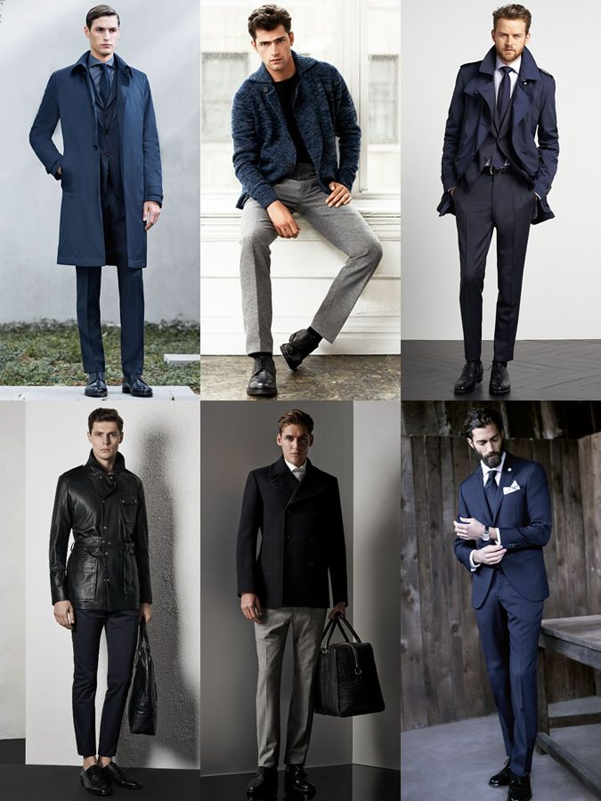 4b0fff3672 Men s Black Dress Shoes Outfit Inspiration Lookbook