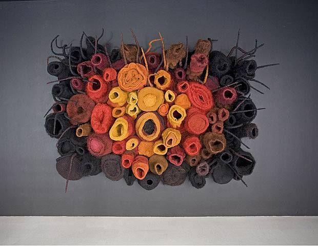 Untitled (Monster), by Piotr Uklanski (Polish, b.1968) 2009  MATERIALS:  Jute, linen, sisal and aluminum