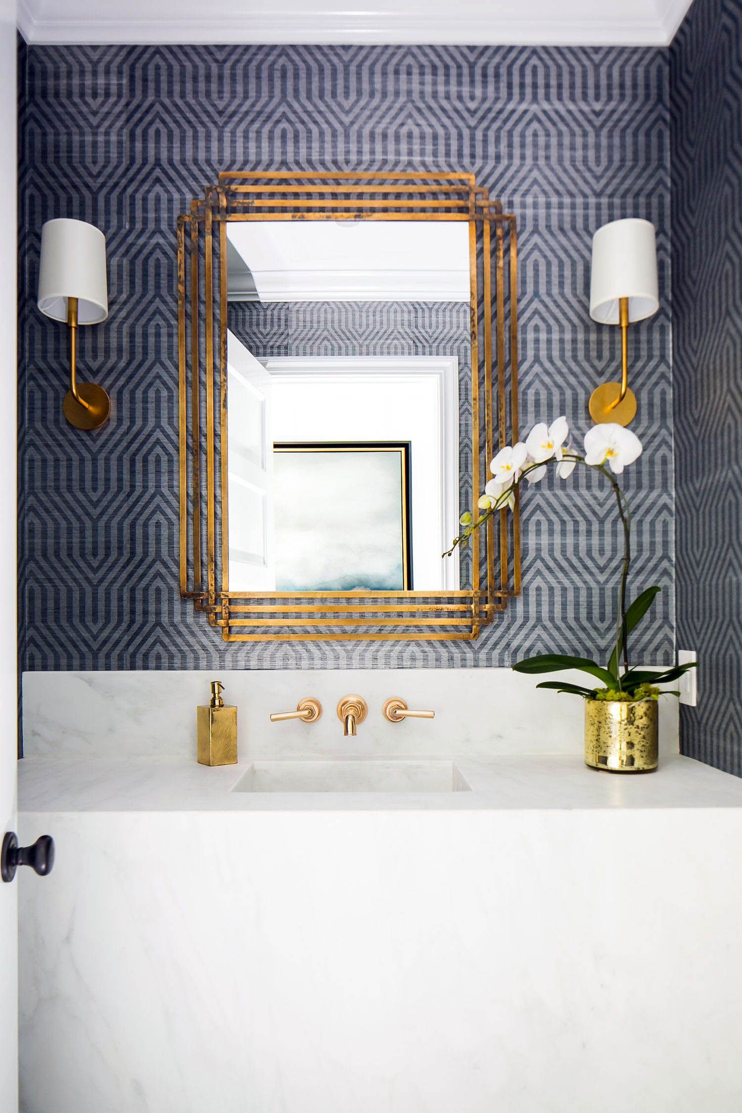 Recent Powder Room Decorating Ideas Hgtv Only On Neuronhome