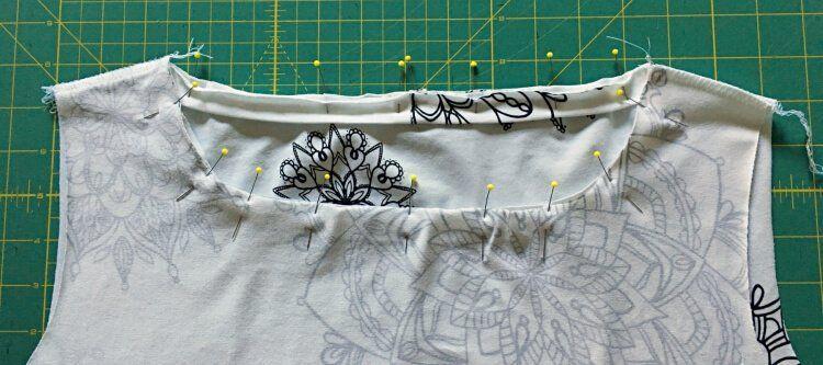 Nähanleitung für ein Damen-T-Shirt | Kostenloses Schnittmuster Gr. 34 - 48 | Nähtalente