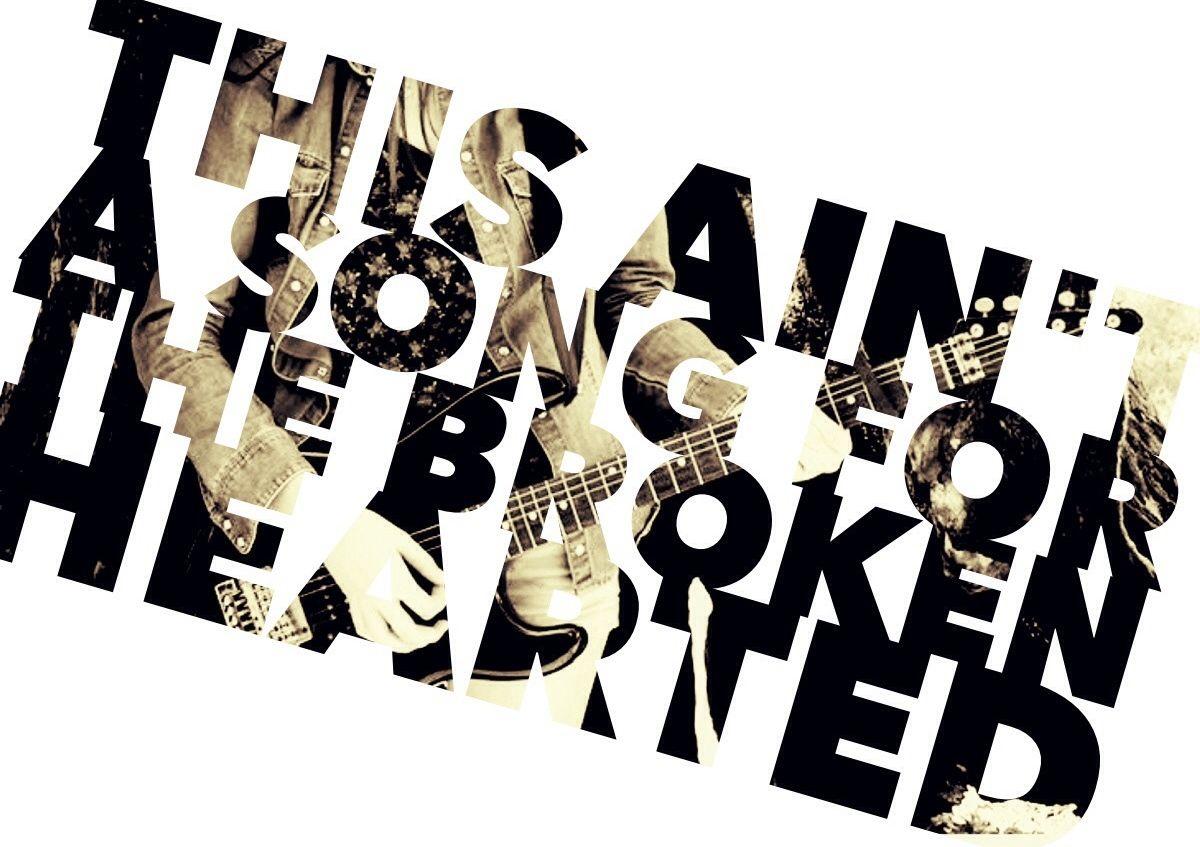 This Ain T A Song For The Broken Hearted Bon Jovi Its My Life Songs Bon Jovi Music Lyrics