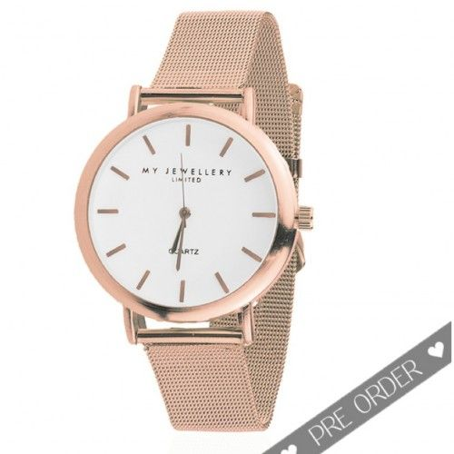 My Jewellery Limited Watch - Rose