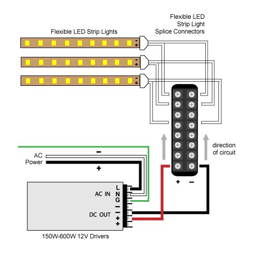 hardwire splitter wiring diagrams  elemental led academy