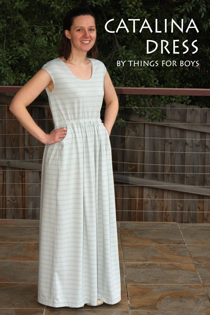 Catalina Dress with Things for Boys