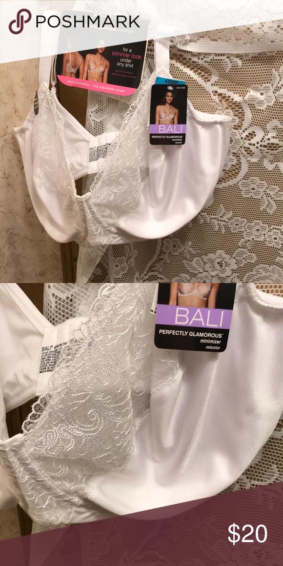 cc9a2a96169 NWT sz 42 ddd perfectly glamorous minimizer Minimizer. Underwire Bali  Intimates   Sleepwear Bras