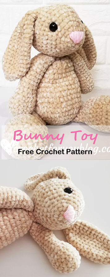 Make a Cute Bunny - Free Pattern