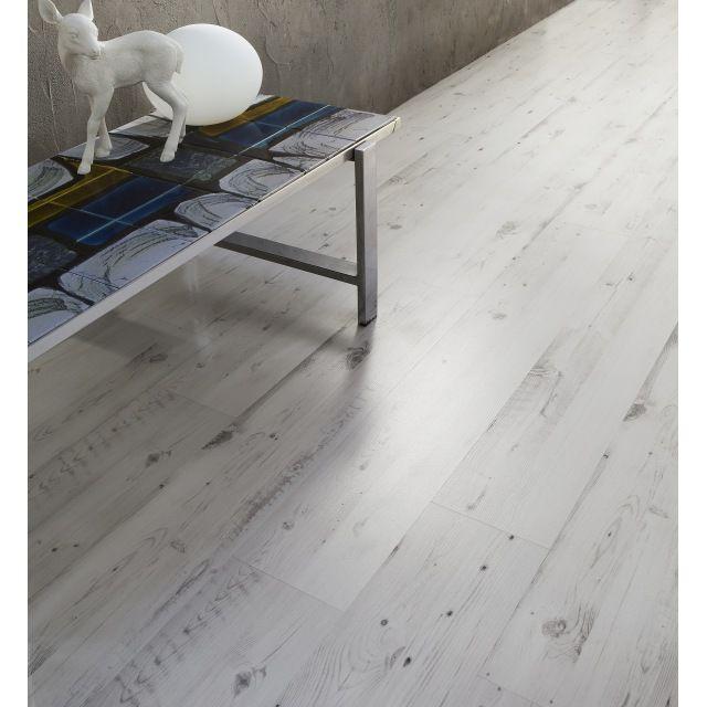Revêtement de sol stratifié décor pin Californie Belcanto - brico carrelage salle de bain