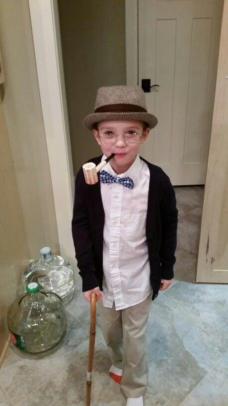 100th Day Of School Costume Dress Up Grandpa   School Projects!   Pinterest   Costume Dress ...