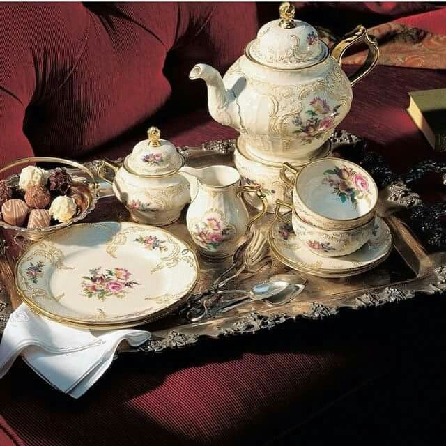 The Chocolate Tea Sets Parties Tes Time Whimsical Frederick Great Hobbies Of