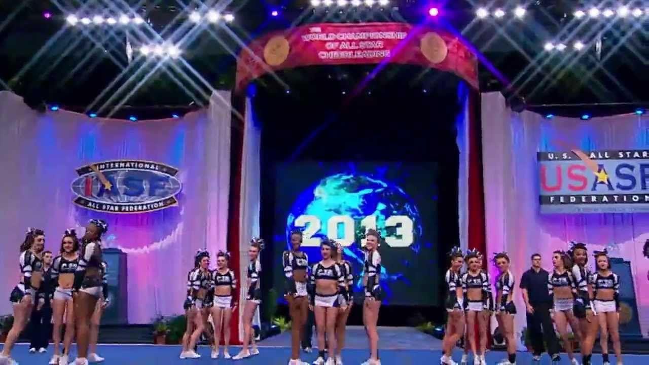 2013 Worlds Central Jersey Allstars Team Gunz Cheer Extreme Allstar Cheerleading All Star Cheer