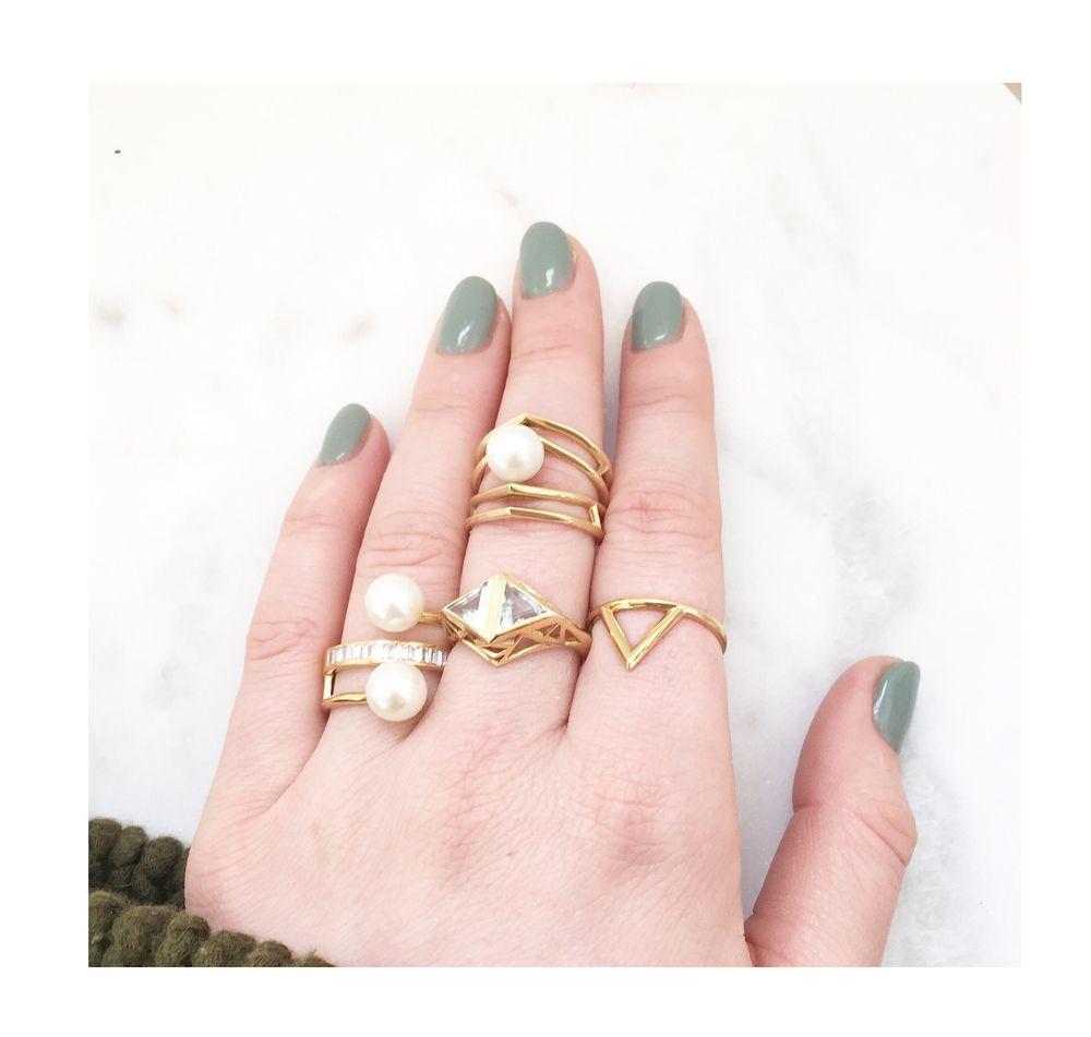 Sammie Jo Coxon - New Brand Alert | Pearl rings, Jewlery and Pearls