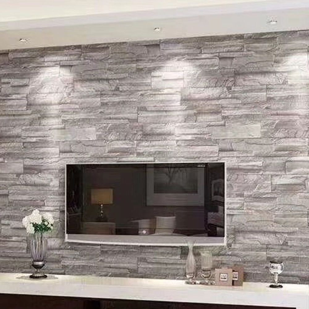 1m 3d Brick Pattern Brick Wallpaper Cafe Bar Chinese Restaurant Clothing Store Wallpaper Ideas Of Wallpa Brick Wallpaper Cafe Brick Wall Decor Brick Decor