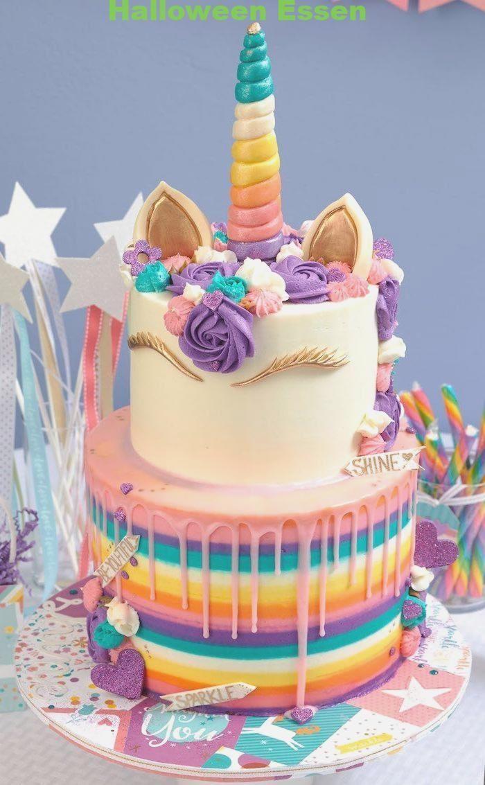 1001 Ideen Zum Einhornkuchen Fur Kleinkinder Kreatives Essen Einho Einho Einhornkuch Einhorn Kuchen Geburtstag Kuchen Dekorieren Einhornkuchen