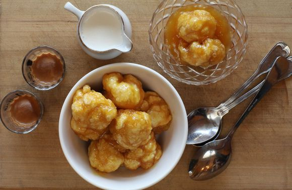 Maggie Beer Golden Syrup Dumpings