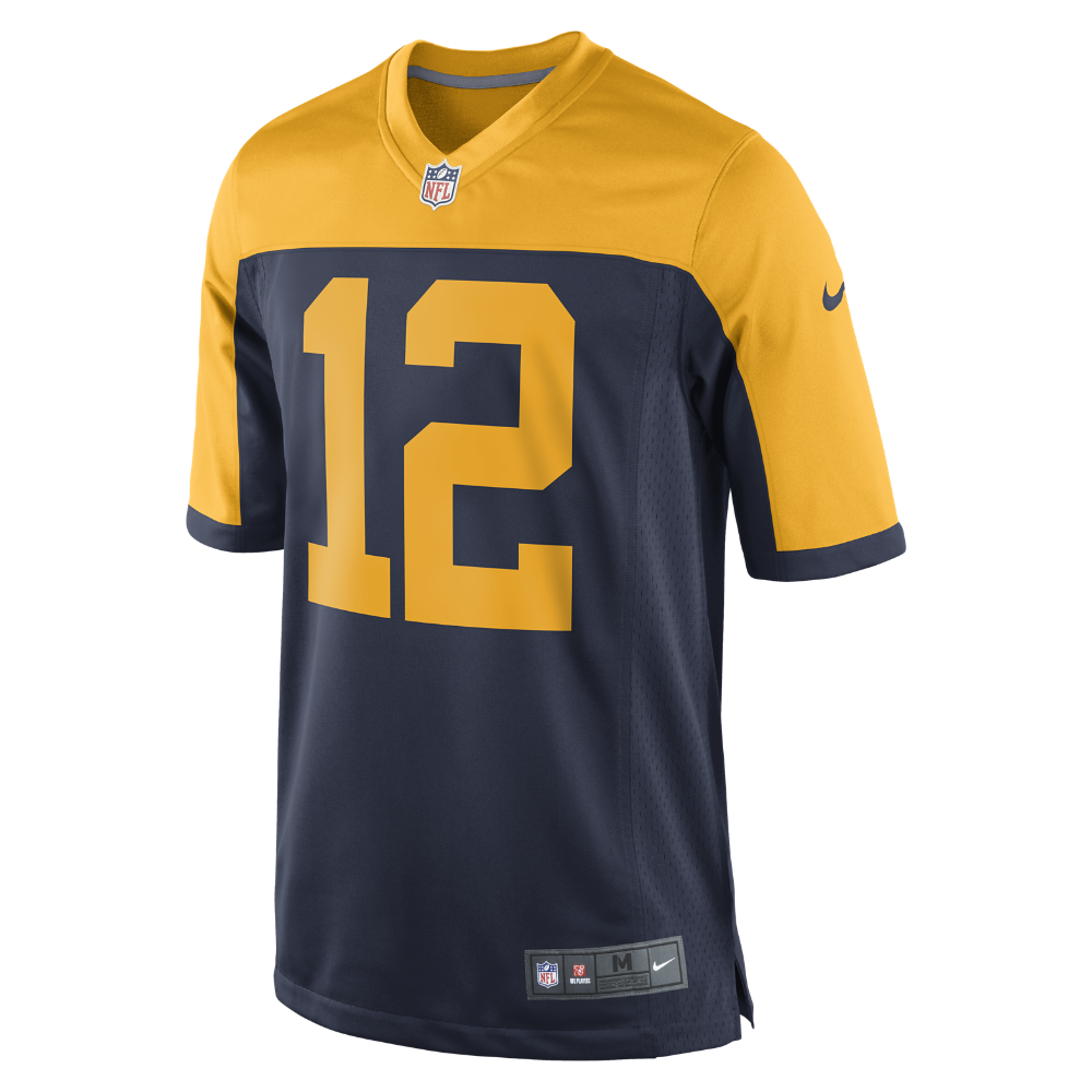 Nike Nfl Green Bay Packers Aaron Rodgers Men S Football Game Jersey Size Green Bay Packers Nfl Green Bay Green Bay