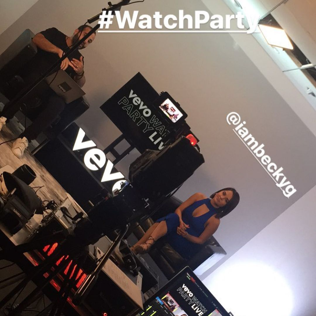 """Mi piace"": 40, commenti: 1 - Becky G. News (@bgfacts) su Instagram: ""Becky at @Vevo Watch Party Live."""