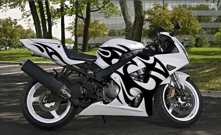 Inferno Sport Bike Graphics Motorcycle Decals Stickers Graphics