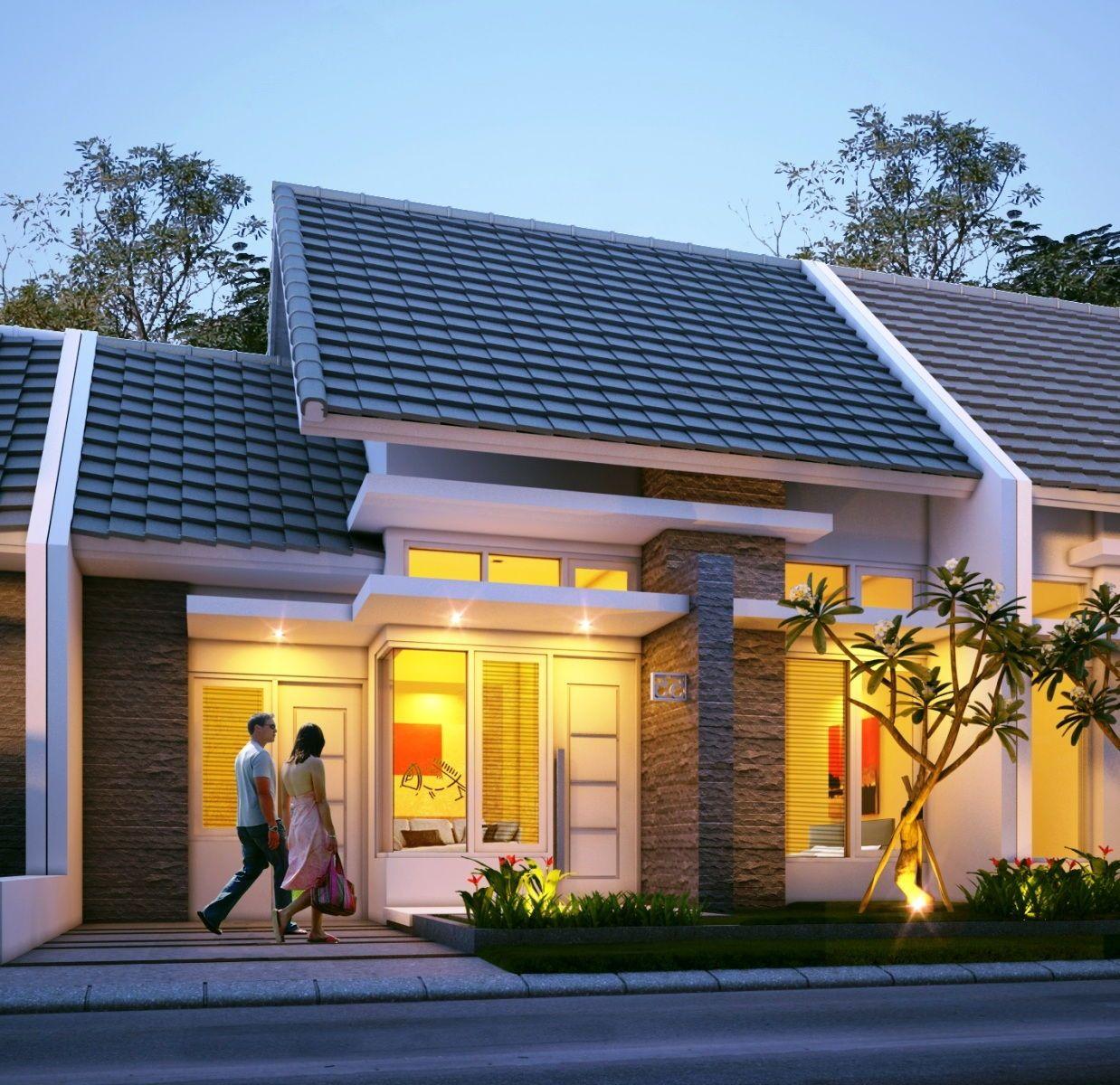 75+ desain rumah type 36 minimalis 2 lantai & 1 lantai ...