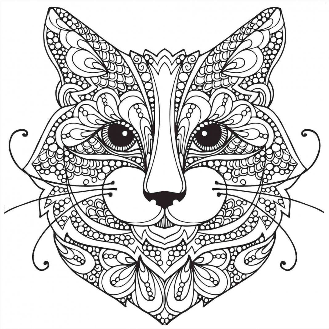 Abstrakcyjne Kolorowanki Dla Dzieci I Doroslych In 2020 Cat Coloring Book Cat Coloring Page Animal Coloring Pages