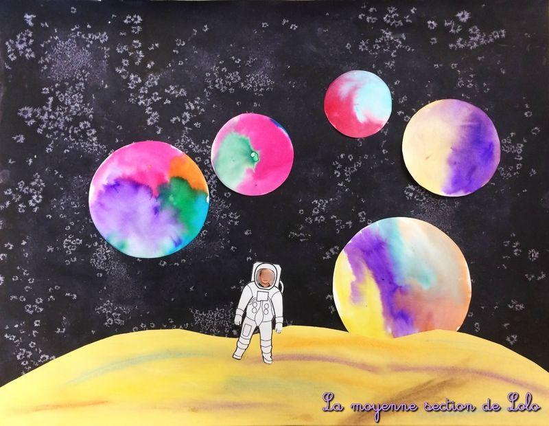 Gut gemocht arts visuels et autres idées en maternelle | astronomie en  AH19