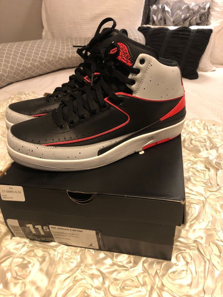 competitive price 50e77 97f58 air jordan retro 2 infrared size 11.5  fashion  clothing  shoes  accessories   mensshoes  athleticshoes (ebay link)