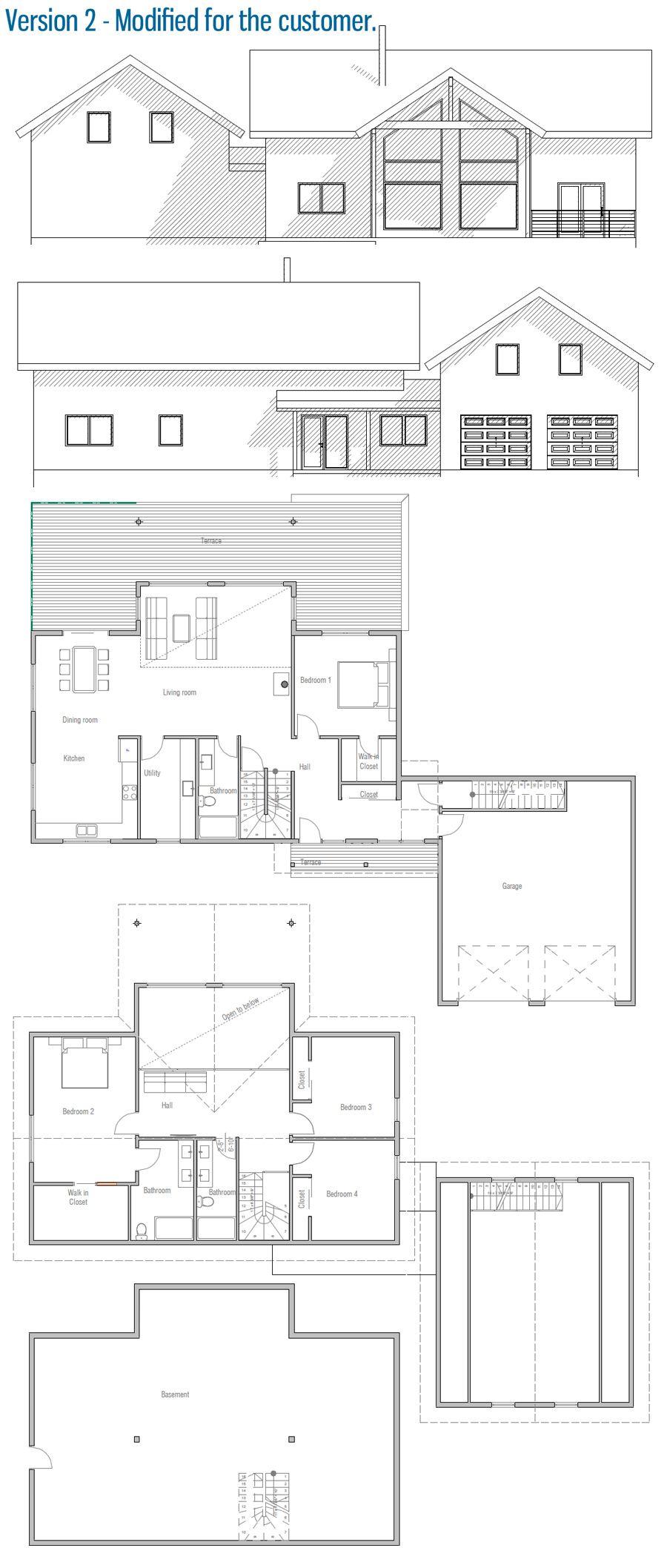 Design moderne · plans architecturaux · maison plan maison petite conception de maison plans de nouvelle maison autocad