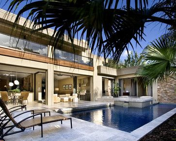 NeMo (New Modern) - modern - patio - orlando - Phil Kean ...