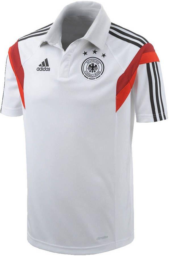 Adidas Herren Fussball Poloshirt Dfb Polo Auf Shopstyle De