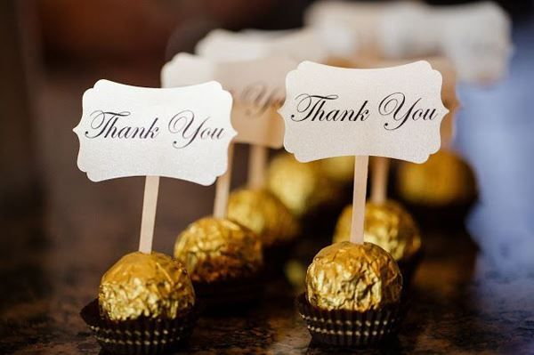 25 INETRESTING THANK YOU WEDDING GIFT FOR THE GUESTS……. – Godfather Style