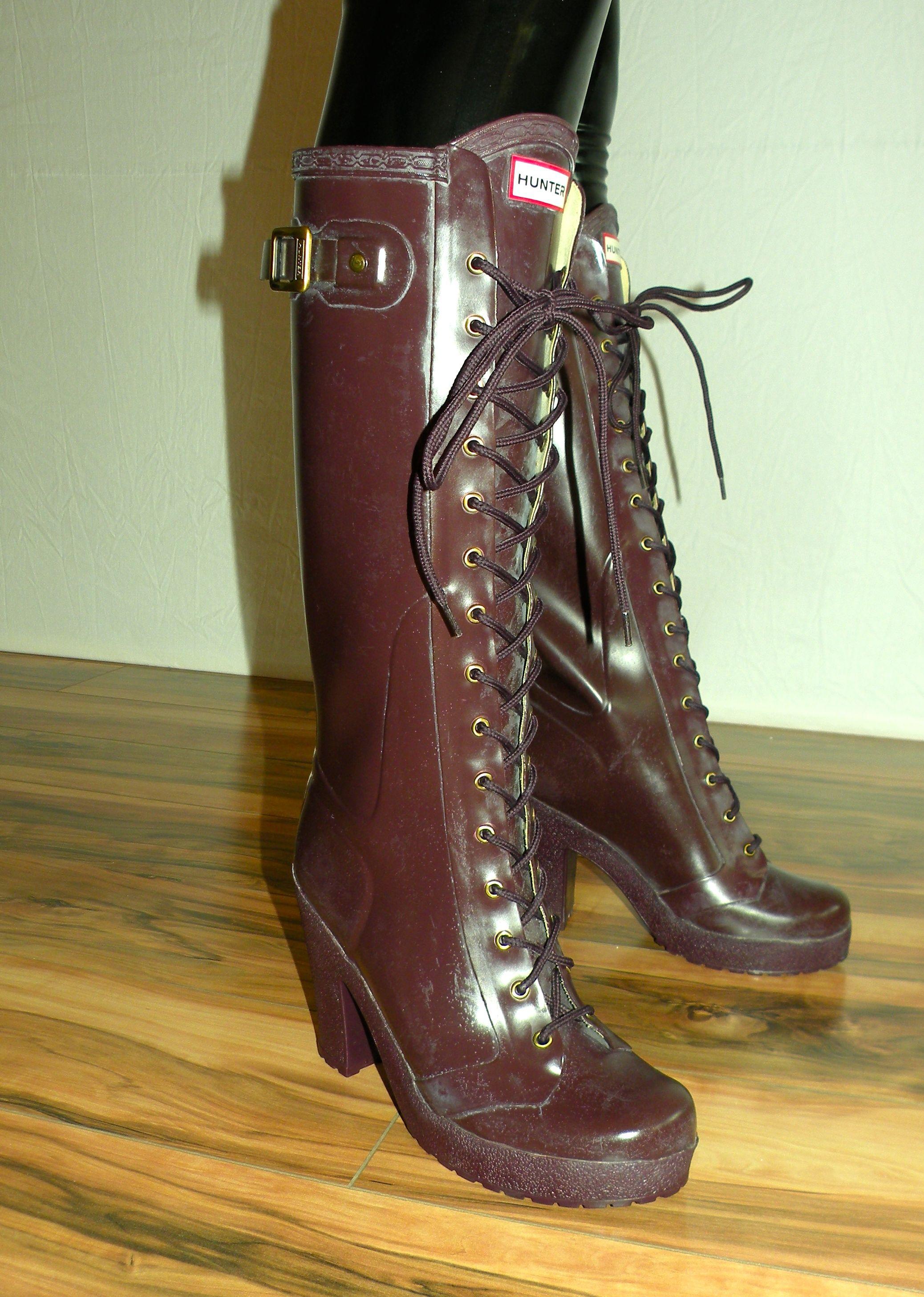 2018 Schuhe wie man serch heiß-verkauf echt Pin von Torok Csaba auf Women rubber high heel boots & women ...