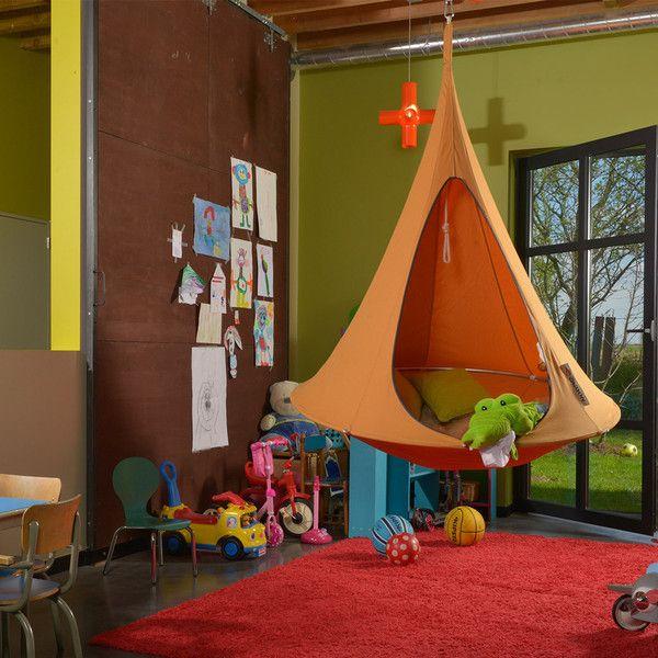 single cacoon hammock  mango orange single cacoon hammock  mango orange   kids rooms and cocoon hammock  rh   pinterest co uk