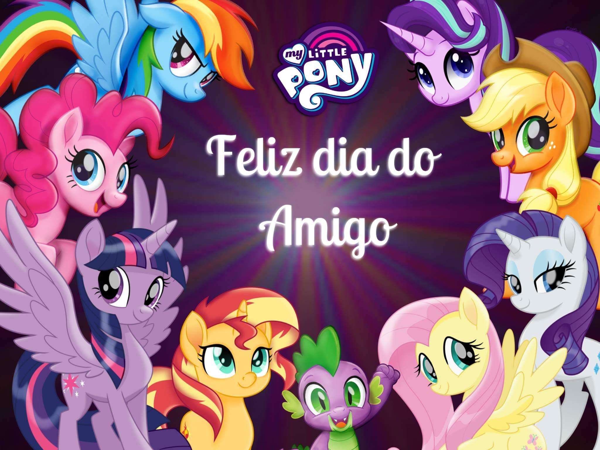 Pin De Princesses Em My Little Pony The Movie Dia Do Amigo Mlp Imagens