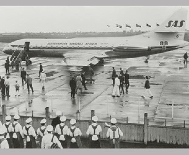 1959 brach in Düsseldorf das JetZeitalter an. Am 17. Mai