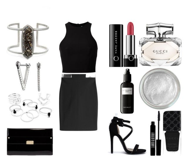 """Без названия #2968"" by southerncomfort ❤ liked on Polyvore featuring Thierry Mugler, Kendra Scott, Gucci, Silver Lining, Lord & Berry, Marc Jacobs, Qupid, T By Alexander Wang, Jimmy Choo and Rebecca Minkoff"