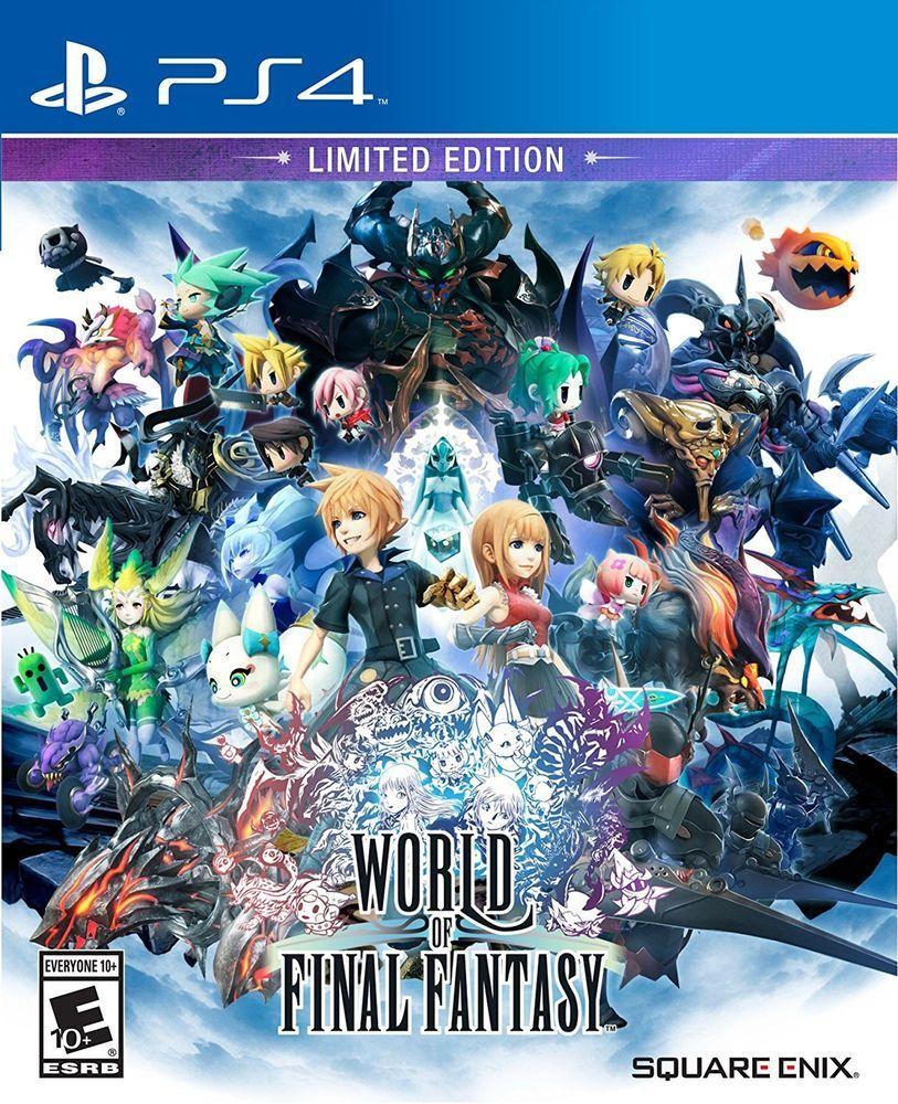 World Of Final Fantasy Limited Edition Sony Playstation 4 2016